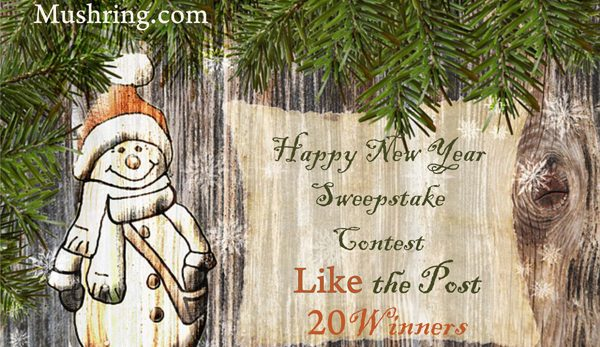 """Happy New Year"" Sweepstake Contest"